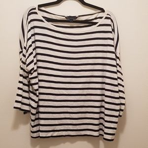 EUC French Connection Striped Shirt